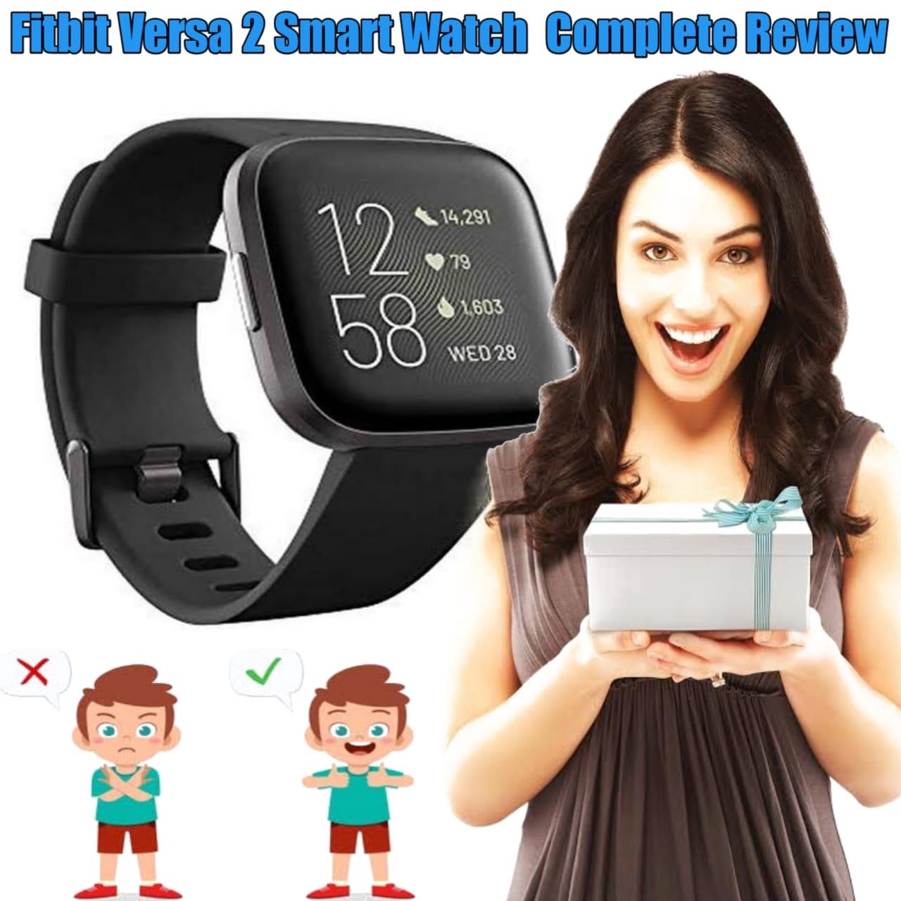 Fitbit versa 2 Sense Advanced Smartwatch review 2021-22